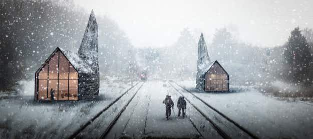 See the incredible designs for tourist information kiosks along the Trans-Siberian Railway