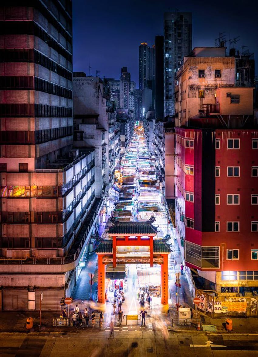 Photographer Shares Stunning Pictures Of Hong Kong Inspired By Ghost In The Shell Anime Lonely Planet