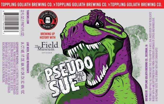 Chicago's Field Museum is teaming up with Toppling Goliath Brewing Company on an exciting beer collaboration
