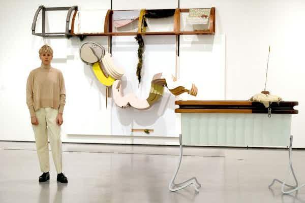 Artist Helen Marten  scoops the 2016 Turner Prize in London