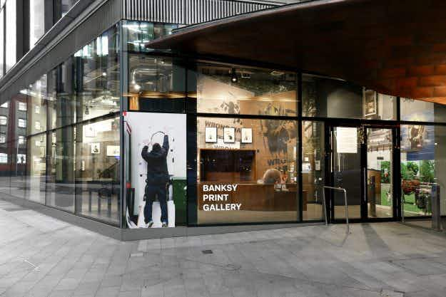 Lazarides in London opens dedicated Banksy Print Gallery featuring never before seen photographs