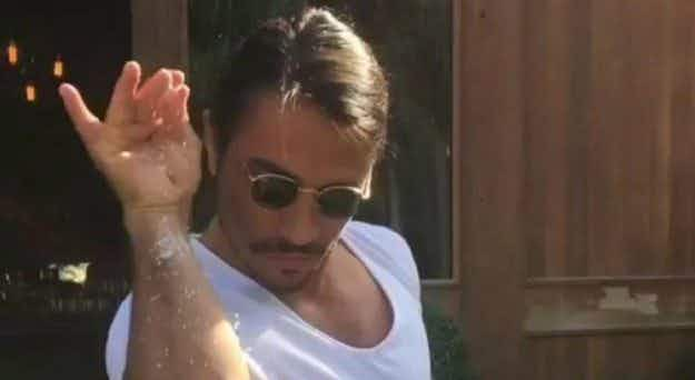 Internet sensation #SaltBae is expanding his restaurant chain to London and New York