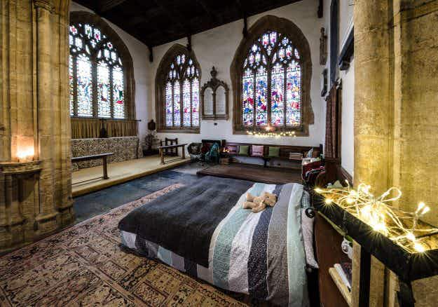 Forget glamping, now you can go 'champing' in medieval churches across England