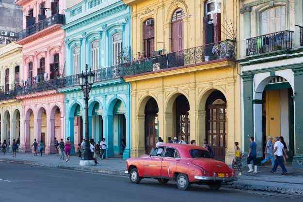 Havana has seen the highest increase in searches as travellers aim to visit the Cuban capital