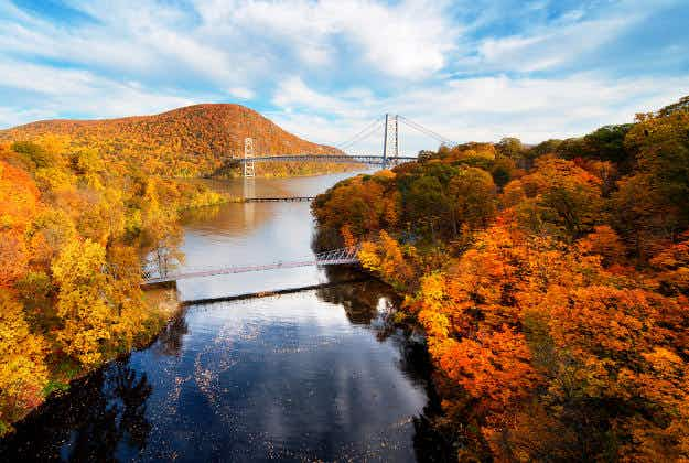 Soon you will be able to hike, bike, and run across New York's 750-mile Empire State Trail