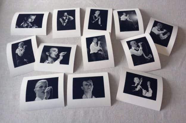 Long-lost David Bowie gig photos have gone on display in Stockholm after 40 years