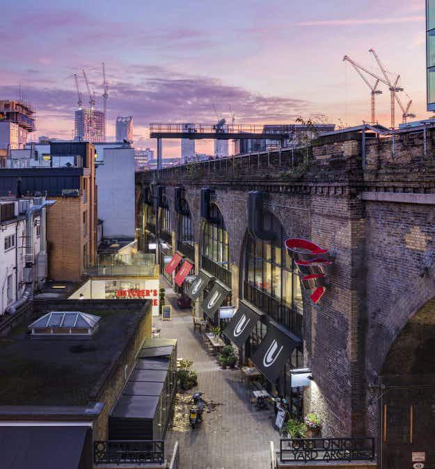 London's Bankside has got a new cultural hub beneath the rail viaducts