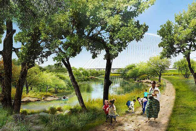 A new urban park in Dallas will be 11 times larger than New York's Central Park