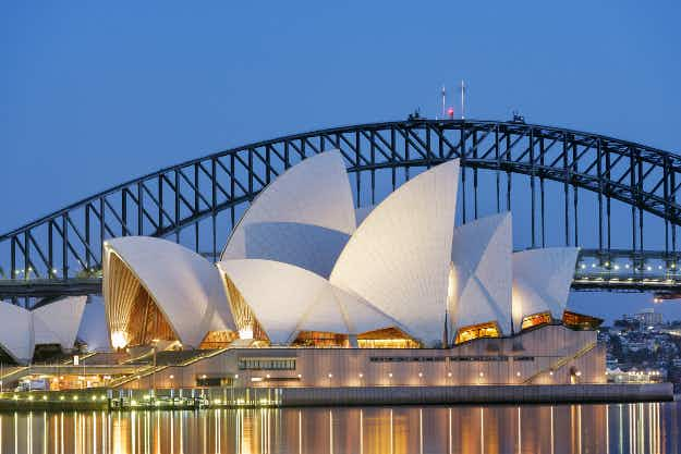 Is the Sydney Opera House now a billboard?