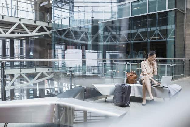 Nearly 30% of business travellers would take a lower paying job to travel more for work