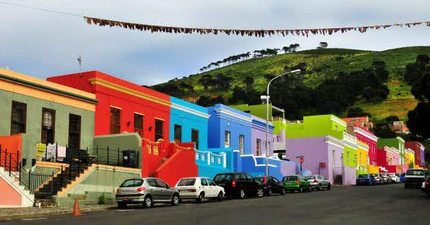 Are these the most colourful neighbourhoods in the world?