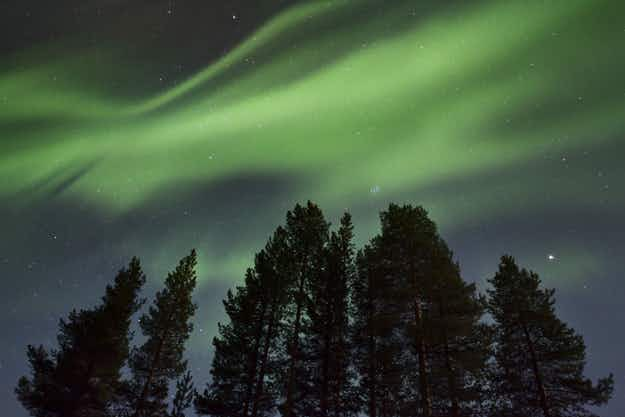 Did a photographer in Sweden capture the sound of the Northern Lights?