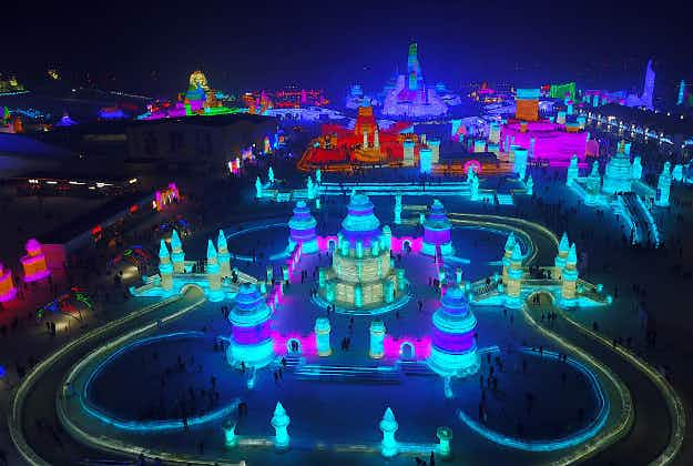 In pictures: travel to a winter wonderland at the Harbin Ice and Snow festival in China