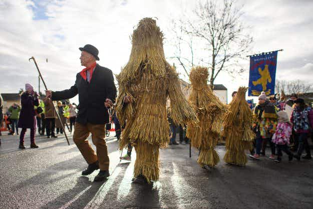 In pictures: the long held tradition of the Whittlesea Straw Bear Festival