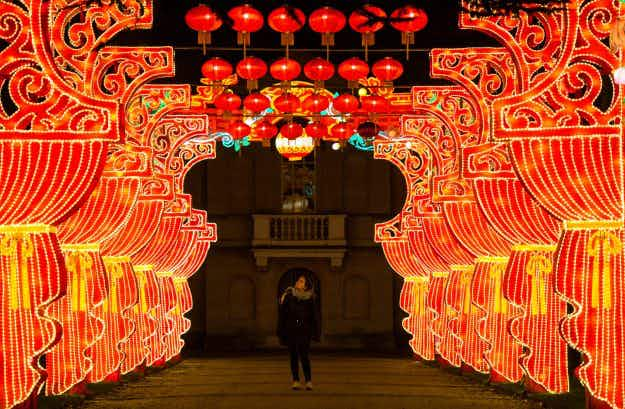 London's annual Magical Lantern Festival in Chiswick Gardens is simply stunning