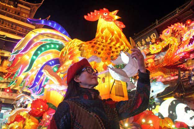 In pictures: countries around the world prepare for the Lunar New Year of the Rooster