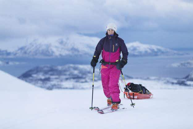 Meet the Swedish nurse who became the fastest female to solo ski to the South Pole