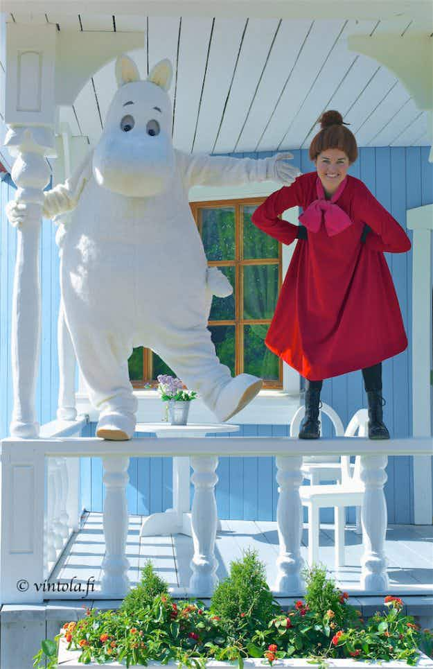 Meet the man that has spent 17 years photographing Moominworld in Finland