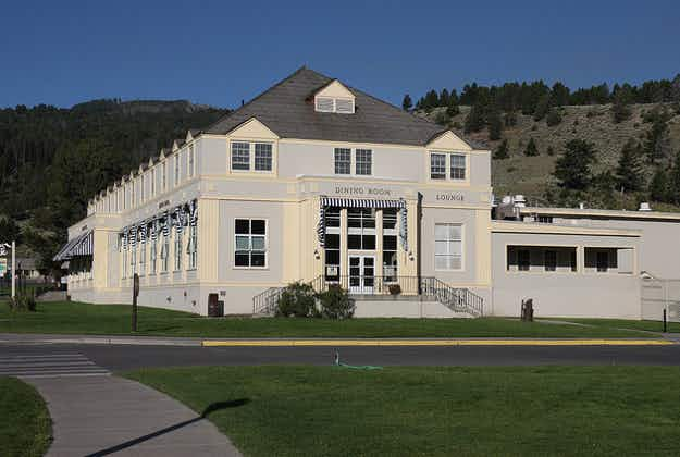 Renovation work gets under way at iconic Yellowstone National Park's Mammoth Hotel