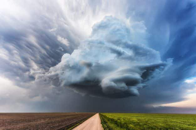 Greetings from Tornado Alley: storm-chaser shares breathtaking photographs of extreme weather