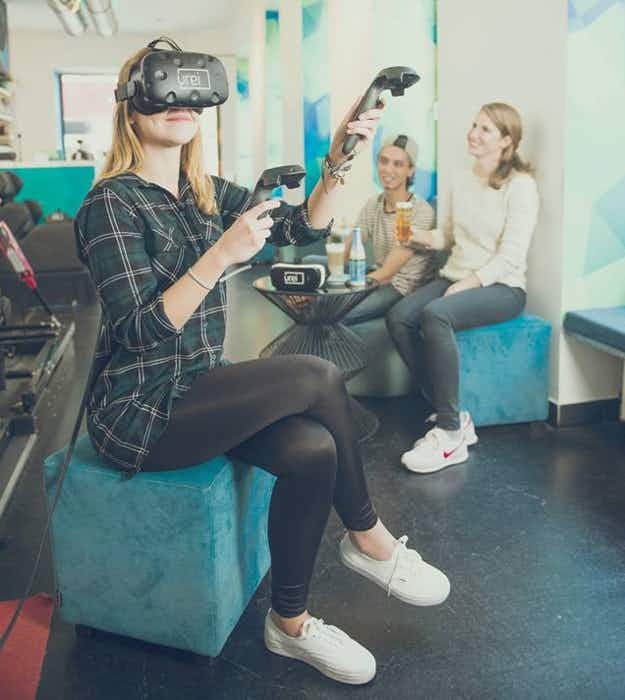 Vienna has a virtual reality bar where you can have a drink and try out VR for free