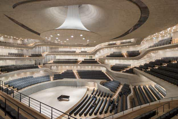 Hamburg's new concert hall will captivate audiences with an innovative acoustically-designed space