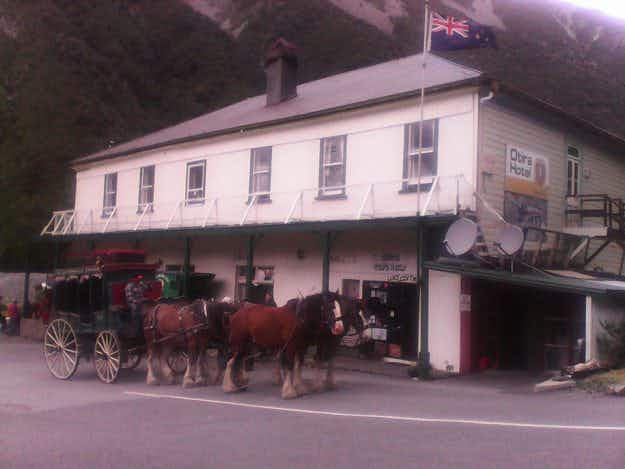 One man has bought most of a New Zealand town and plans on turning it into a tourist attraction