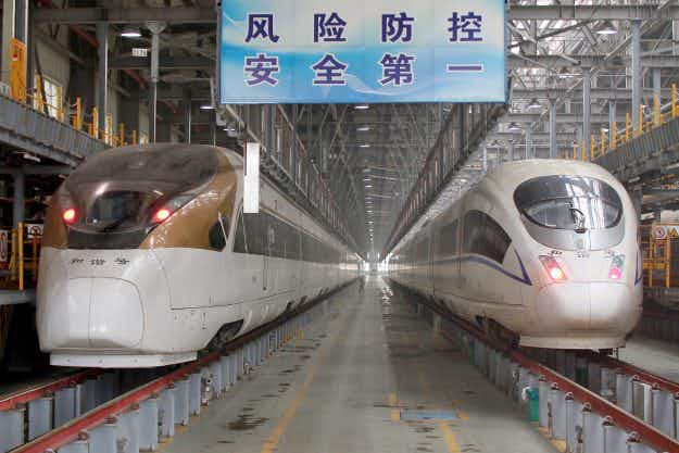 'Shangri-la of the World,' the world's longest high-speed train has launched in China