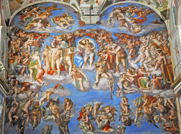 Rome's Sistine Chapel has been photographed in groundbreaking new detail