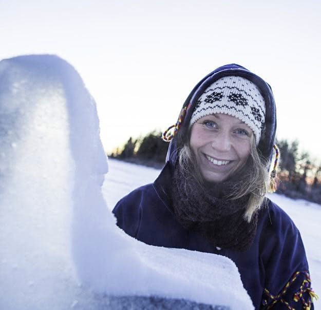 Participants will get up close and personal with the snow of Lapland.