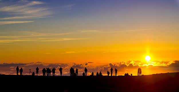This sunrise in Hawaii is so beautiful that now you need a reservation to see it