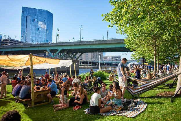 Philadelphia's traveling beer garden will visit 20 city parks this summer