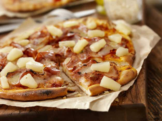 The Icelandic president has sparked a huge debate after saying he'd ban pineapple on pizza