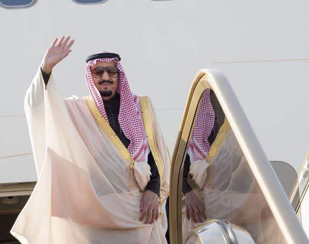 The Saudi Arabian king has taken a whopping 459 tonnes of luggage on his latest trip