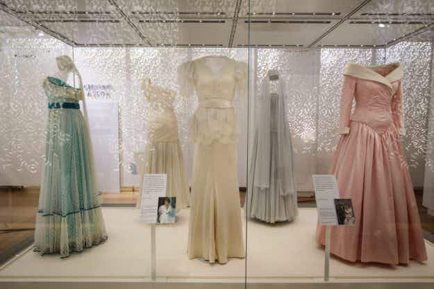 An exhibition of Princess Diana's dresses and best-loved outfits opens at her former home in London