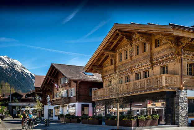 There is a burning ring of fire in Gstaad, Switzerland – here's why