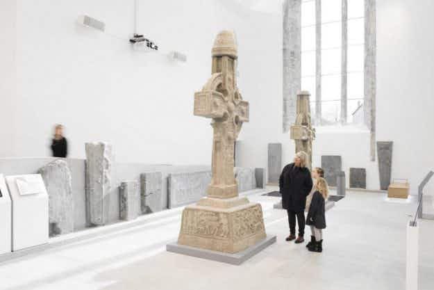 Inside the new state-of-the-art Medieval Mile Museum in Kilkenny