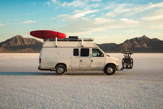 Meet the man who spent an adventurous year driving an NYPD detective van around the USA