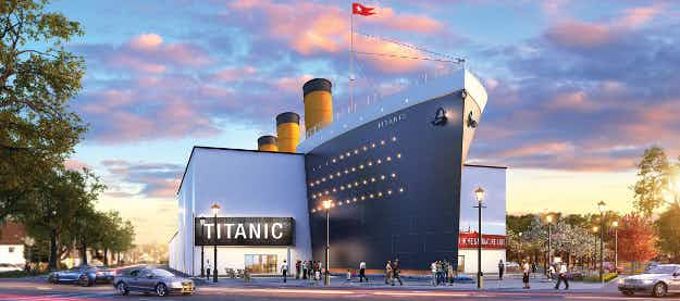 Smell the salt air and eat the food as a passenger at a new Canadian Titanic interactive museum
