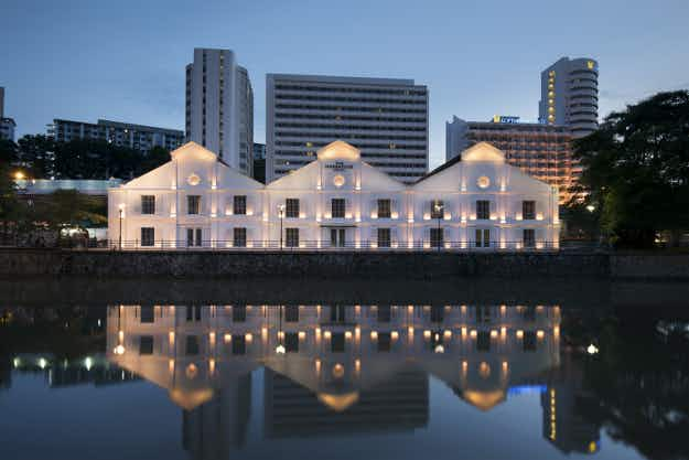 A 19th-century warehouse becomes a new hotel with a rooftop infinity pool in Singapore