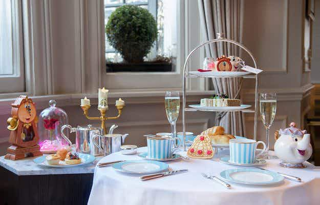 You can be Belle of the ball at this London hotel's Beauty and the Beast-themed afternoon tea package