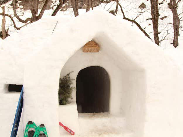 Pack your thermals, because you can now stay for the night in an igloo in India