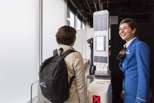 Facial recognition technology could help passengers board planes faster at Amsterdam airport