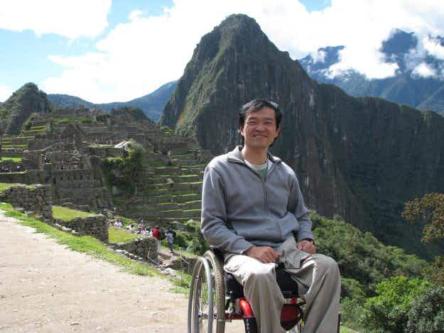 A man who became paraplegic has set up a company promoting accessible tourism in Brazil