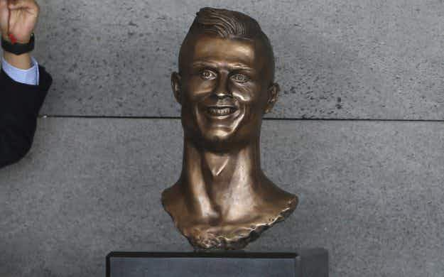 Why people can't stop laughing at this Cristiano Ronaldo statue in Madeira