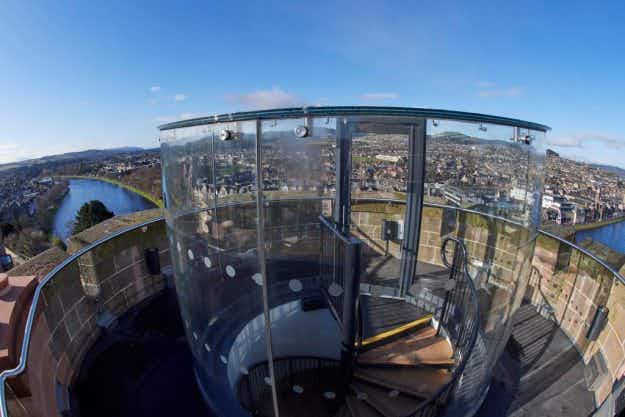 Expect bonny views as the North Tower of Scotland's historic Inverness Castle opens as a tourist attraction