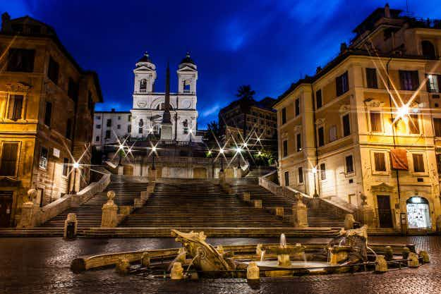 Is Rome's romance fading in the glare of its new LED streetlights?