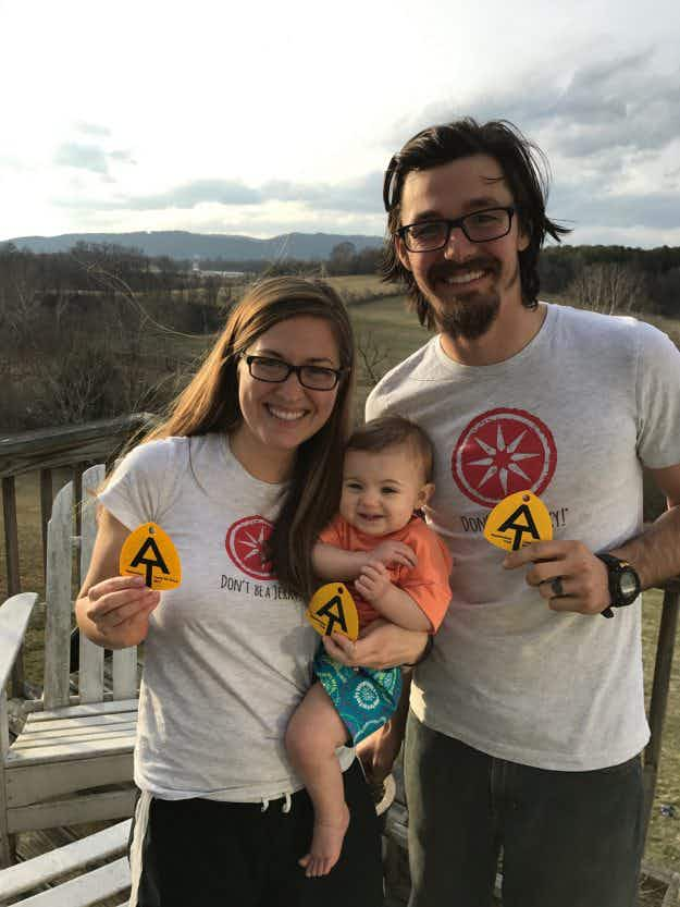 Meet the couple who will hike the Appalachian Trail with their baby