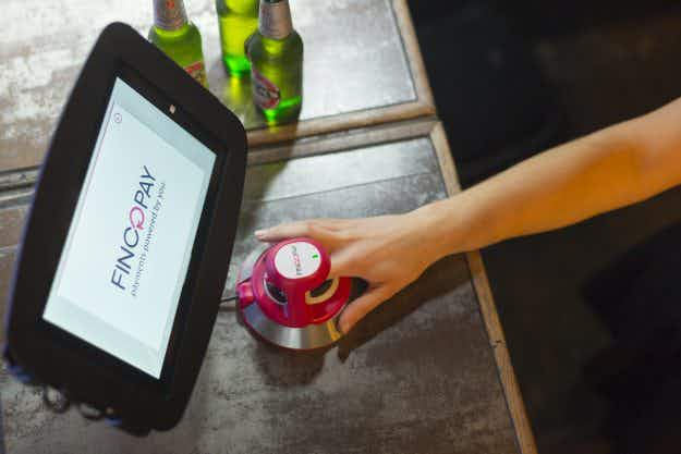 You can pay for drinks at this London bar by scanning your finger