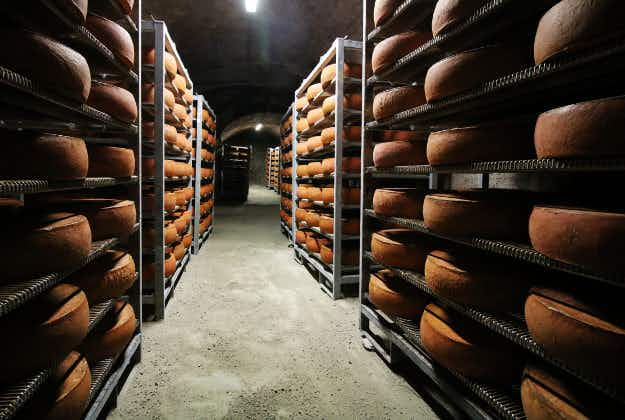 Check out these hidden cheese caves, 30 feet below the streets of Brooklyn